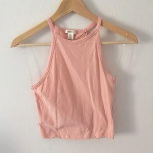 NWOT light pink tank top